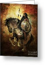 Warrior Greeting Card
