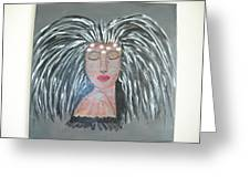 Warrior Woman #2 Greeting Card