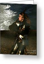 Warrior Woman Greeting Card