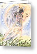Warrior's Angel Greeting Card