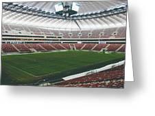 Warsaw Stadion Greeting Card