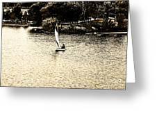 Wascana-18 Greeting Card