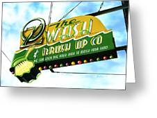 Wash And Brush Up Co. Greeting Card