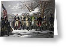 Washington & Generals Greeting Card