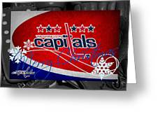 Washington Capitals Christmas Greeting Card