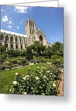 Washington Cathedral 3 Greeting Card