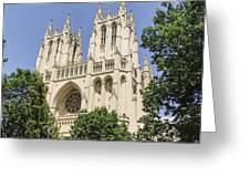 Washington Cathedral 5 Greeting Card