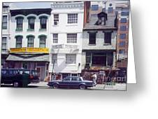 Washington Chinatown In The 1980s Greeting Card
