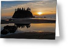 Washington Coast Tranquility Greeting Card