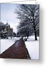 Washington College Greeting Card