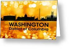 Washington Dc 3 Greeting Card