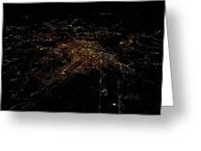 Washington Dc At Night II Greeting Card
