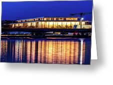 Washington D.c. -kennedy Center Greeting Card