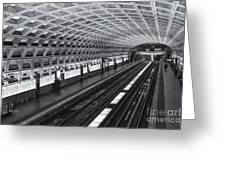 Washington Dc Metro Station I Greeting Card