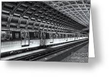 Washington Dc Metro Station Vi Greeting Card