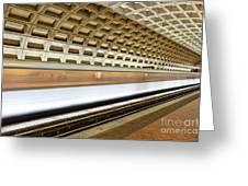 Washington Dc Metro Station Vii Greeting Card