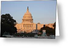 Washington Dc - Us Capitol - 011313 Greeting Card by DC Photographer