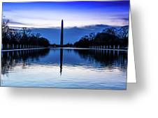 Washington D.c. - Washington Monument Greeting Card