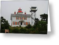 Washington Light House Greeting Card