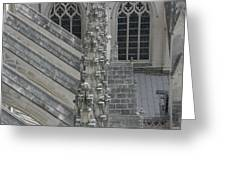 Washington National Cathedral - Washington Dc - 0113111 Greeting Card by DC Photographer