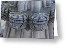 Washington National Cathedral - Washington Dc - 0113119 Greeting Card by DC Photographer