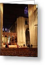 Washington National Cathedral - Washington Dc - 011312 Greeting Card by DC Photographer