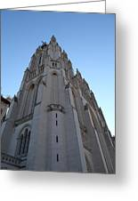 Washington National Cathedral - Washington Dc - 0113121 Greeting Card by DC Photographer