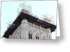 Washington National Cathedral - Washington Dc - 01132 Greeting Card by DC Photographer