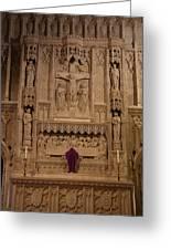 Washington National Cathedral - Washington Dc - 011324 Greeting Card