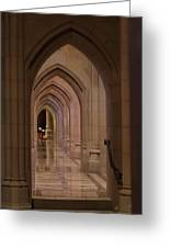 Washington National Cathedral - Washington Dc - 01136 Greeting Card