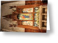 Washington National Cathedral - Washington Dc - 011398 Greeting Card