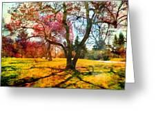 Washington Park I Greeting Card