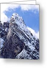 Washington Pass Peak Greeting Card