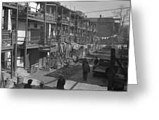 Washington Slum, 1935 Greeting Card