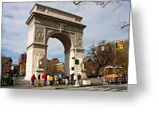Washington Square Arch New York City Greeting Card
