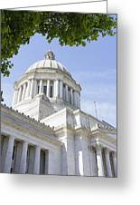Washington State Capitol Building Dome Greeting Card