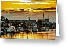 Washington Waterfront Greeting Card