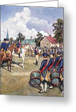 Washingtons Army, 1776 Greeting Card