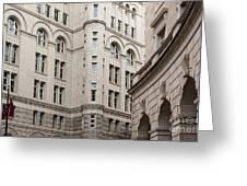 Washington Buildings Greeting Card