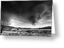 Washoe Clouds Greeting Card