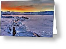 Washoe Ice Greeting Card