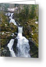 Wasserfalle Greeting Card