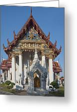 Wat Amarintaram Ubosot Dthb1507 Greeting Card