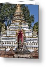 Wat Chai Monkol Phra Chedi Buddha Niche Dthcm0863 Greeting Card