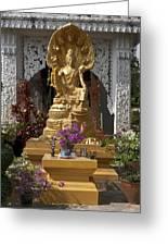 Wat Luang Buddha Image Dthu029 Greeting Card