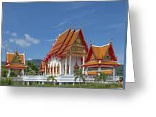Wat Luang Pu Supa Ubosot Dthp323 Greeting Card