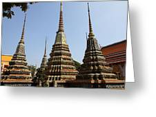 Wat Pho - Bangkok Thailand - 011319 Greeting Card