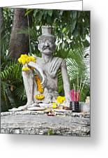 Wat Pho, Thailand Greeting Card