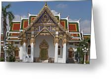 Wat Phrasri Mahathat Ubosot Dthb1464 Greeting Card