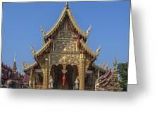 Wat Saen Muang Ma Luang Phra Wihan Dthcm0618 Greeting Card